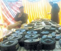 Huge cache of foreign-made weapons seized
