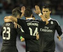 La Liga: Hernandez continues scoring form as Real beat Celta Vigo 4-2