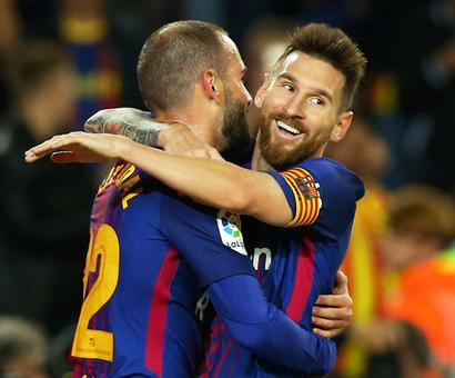 PHOTOS: Four-star Messi makes it a night to remember as Barca rout Eibar