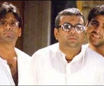 Akshay, Suniel and Paresh prepared with Hera Pheri 3