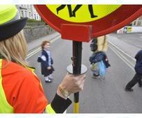 School children speak out as 180 lollipop wardens' jobs under threat