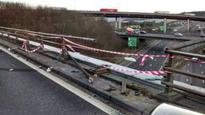 Lorry driver arrested over M25 crash