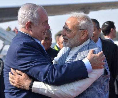 Netanyahu thanks Modi, says India visit was 'historic'