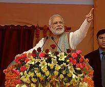 PM Modi echoes Indira, says political rivals have become irrelevant