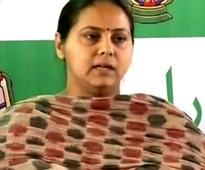 Benami land deal: Lalu Prasad's daughter Misa Bharti quizzed by I