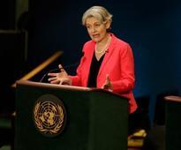 Bokova Urges Massive Investment in Education at UN Top Job Debate
