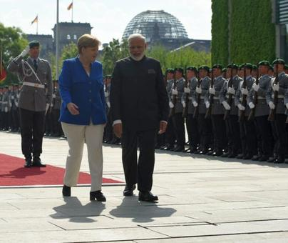 India, Germany made for each other: Modi