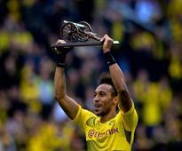 Bundesliga: Pierre-Emerick Aubameyang helps Dortmund grab Champions League spot, Hamburg survive