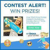 'Soul Surfer' Bethany Hamilton and Damon System Braces Launch Emoji Contest