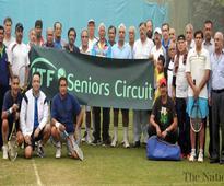 Inam lifts ITF Seniors Tennis 50 plus title