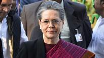 Forces of darkness seeking to engulf society, narrow nationalism dividing India: Sonia Gandhi
