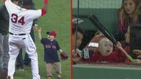 'Thank you Big Papi!' The moment very sick little boy gets surprise of a lifetime from sweet baseball star