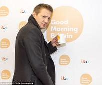 Jeremy Renner refuses to take his coat off during awkward interview with Susanna Reid and Ben Shephard