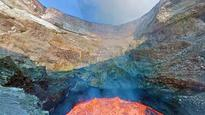 Google Street View now lets you take a virtual walk in the crater of a live volcano