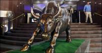 Sensex rises to 13-month high, ends 440 points up