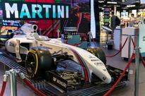 Martini brings Formula 1 to Barcelona Airport