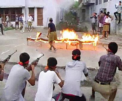 Bajrang Dal men booked after weapons training camp video goes viral