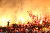 Red-hot end to the Eternal derby as Leonardo scores last-gasp winner for Partizan against Red Star Belgrade
