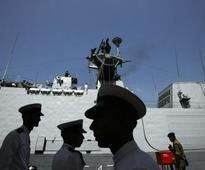 Foreign merchant vessel scraps INS Kora off Vishakhapatnam coast