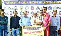 13th Gufran Memorial T20 Cricket C'ship 2017: Combine Cricket Club Ramban, Zargar Eleven Bhalessa register wins