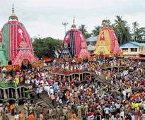 ISKCON's Lord Jagannath Rath Yatra held with religious fervour