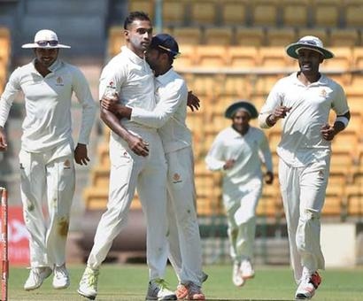 Ranji semis: 13 wickets fell on Day 1
