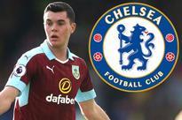 Manchester United set for transfer windfall if Chelsea land Burnley defender Michael Keane