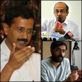 Bhushans, Yogendra Yadav challenge Kejriwal for debate on Lokpal bill; Ashutosh charges them of colluding with BJP