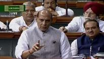 Rajnath Singh warns Pakistan, says, Chingari ka khel bura hota hai