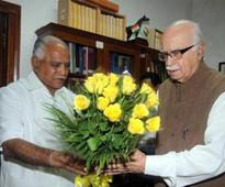 Advani Critical of BJPs Handling of BSY