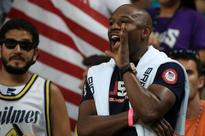 Floyd Mayweather watches US basketball team cruise past Argentina into Olympic semi-finals