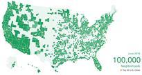 Nextdoor hits 100K neighborhoods, plans to expand overseas