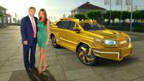 Dartz designs the ultimate Trumpmobile