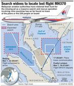 Search for Malaysia Airlines jet expands to Malacca Strait