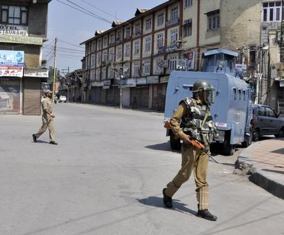 Curfew imposed in entire Kashmir Valley on Eid