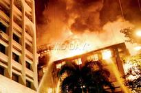 Fire guts two floors of south Mumbai building