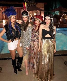 PIX: Kareena, Malaika, Karisma sizzle at Amrita's birthday