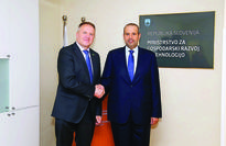 Qatar and Slovenia to boost economic ties Minister of Economy and Commerce H E Sheikh Ahmed bin Jassim bin Mohammed Al...