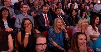 WATCH: Jimmy Kimmel audience's disgusted reaction to graphic clip from Sacha Baron Cohen's film Grimsby