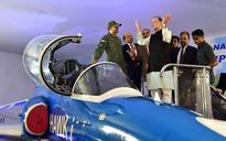Bengaluru: Defence Minister Arun Jaitley launches HAL's light combat helicopter