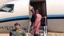 Sushma Swaraj embarks on two-nation visit