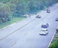 Noida Expressway mishap: Man killed in accident as Swift Dzire tries to overtake Lamborghini