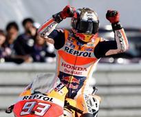 Marquez tops Australian MotoGP practice times
