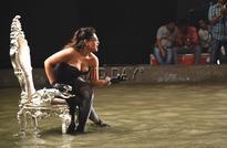Richa Chadda oozes oomph on sets of 'Cabaret'