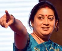 Smriti Irani, controversy's favourite child, kicks up a storm in the Textile Ministry