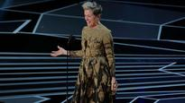 Oscars 2018: Watch Frances McDormand win best actress and raise a battle cry for 'inclusion rider'
