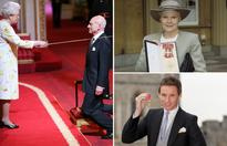 By royal decree: Celebrity knights and dames