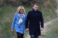 'Class'y love: French Presidential hopeful Macron and his unlikely wife