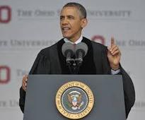 'I dare you to do better' -- Obama's Ohio State commencement speech