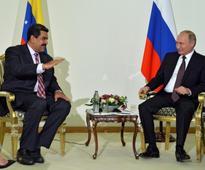 Russia and Venezuela presidents discuss oil markets